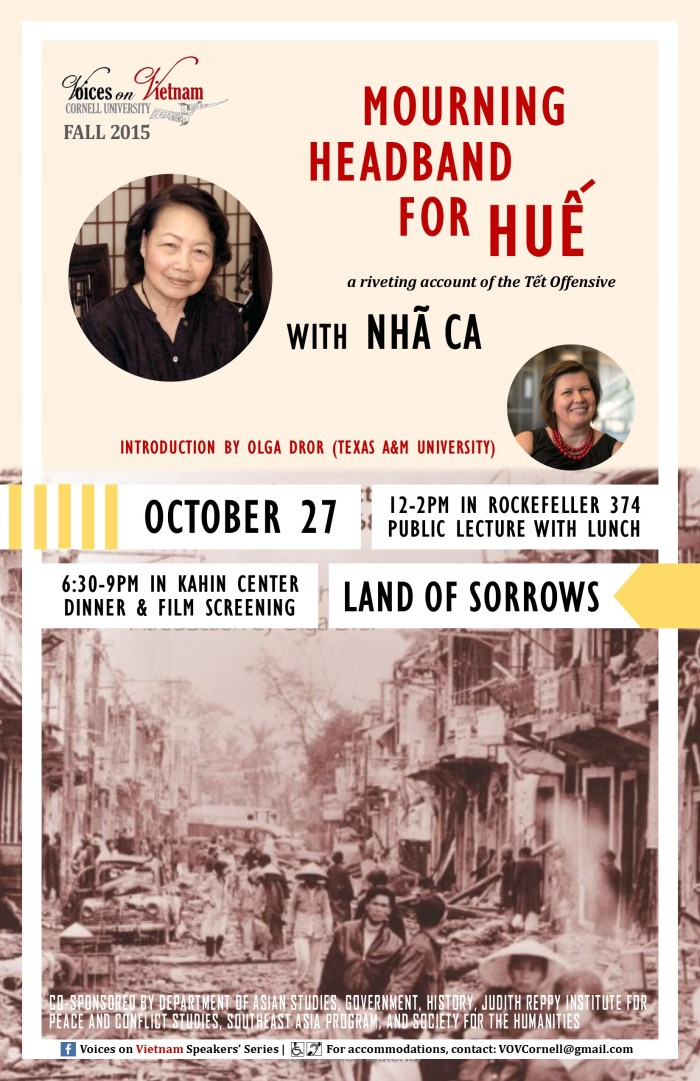 Voices on Vietnam Fall 2015